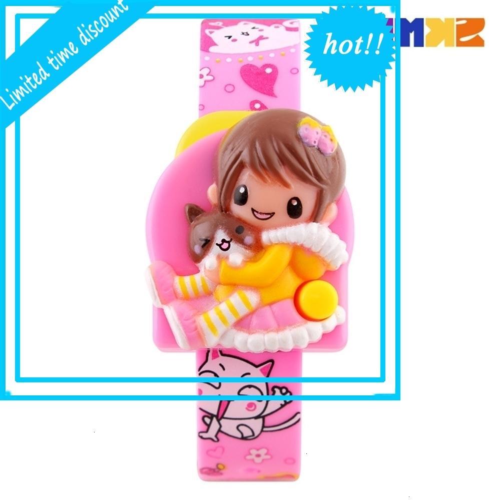 Zeit Schönheit Neue nicht wasserdichte Mode Nette Barbie Elektronische Jungen und Mädchen schauen 1240