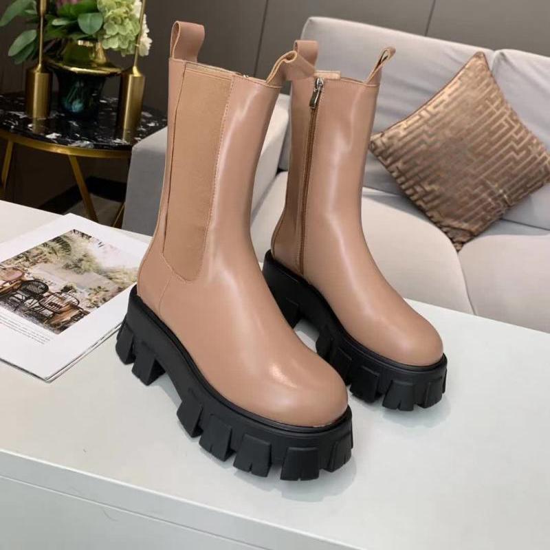 Горячая распродажа Новый бренд на молнии котенок сапоги дизайнер женские ботинки моды ботинки коренастые каблуки