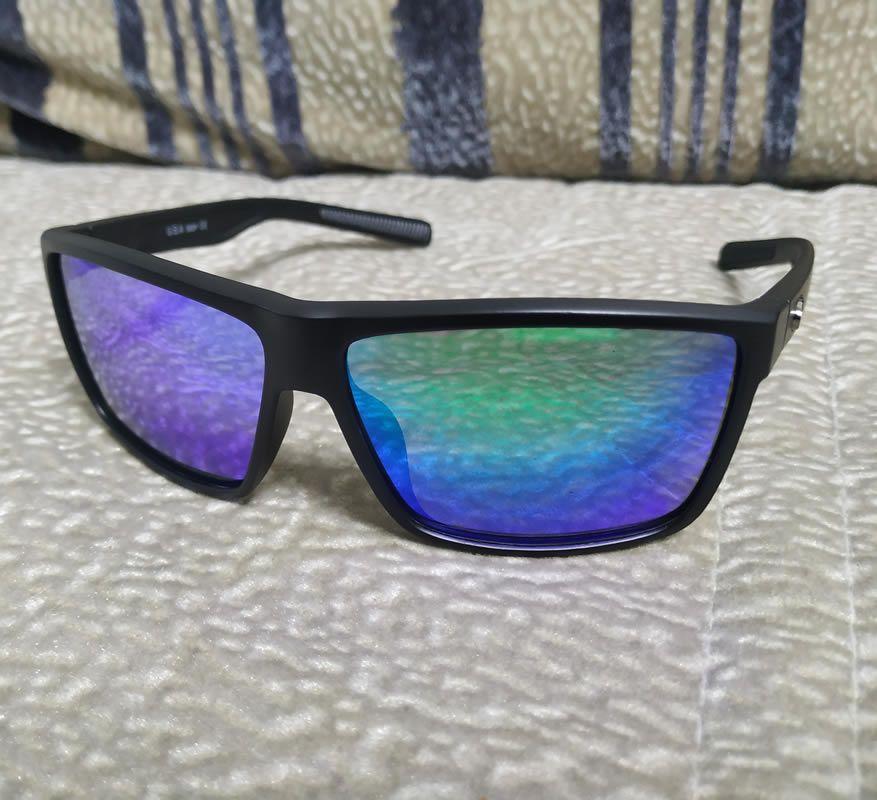 2021 새로운 망 선글라스 580P 파일럿 선글라스 Rovo 다채로운 편광 렌즈 서핑 / 낚시 안경 여성들 럭셔리 디자이너 선글라스 박스 케이스