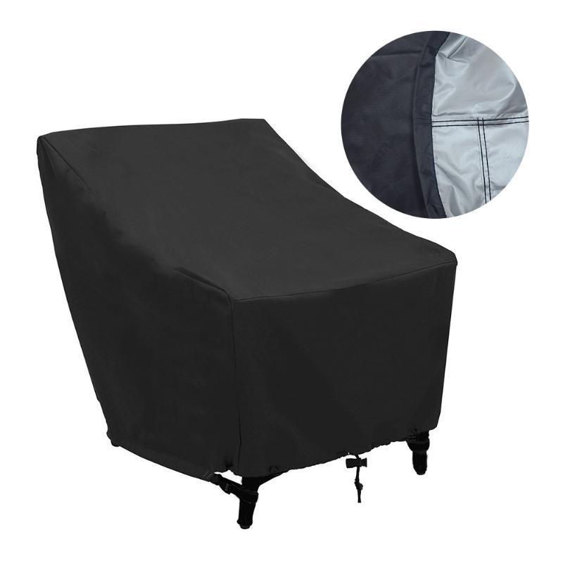 Oxford Tuch Terrasse Zubehör wetterfest Sonnencreme Sessel Sleeve Wasserdichte Anti Staub Lagerung mit Kordelzug Geschenke Abnehmbar