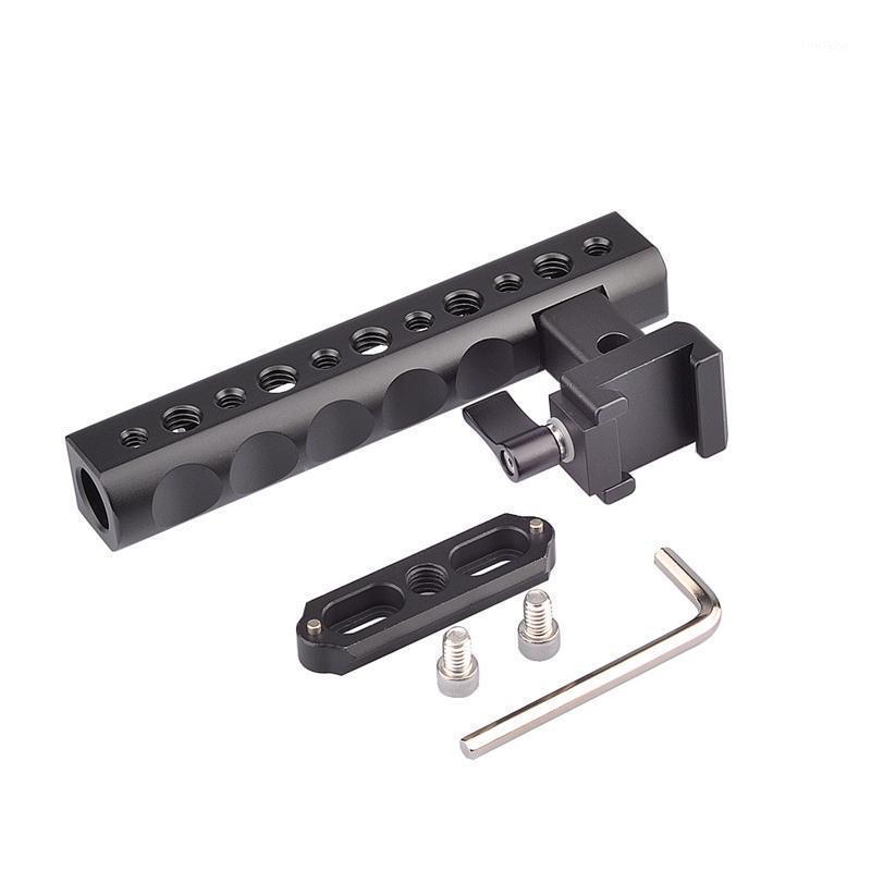 Estabilizadores de câmera portátil estabilizador de câmera superior segura queijo com sapata montagem para digital dslr camera1