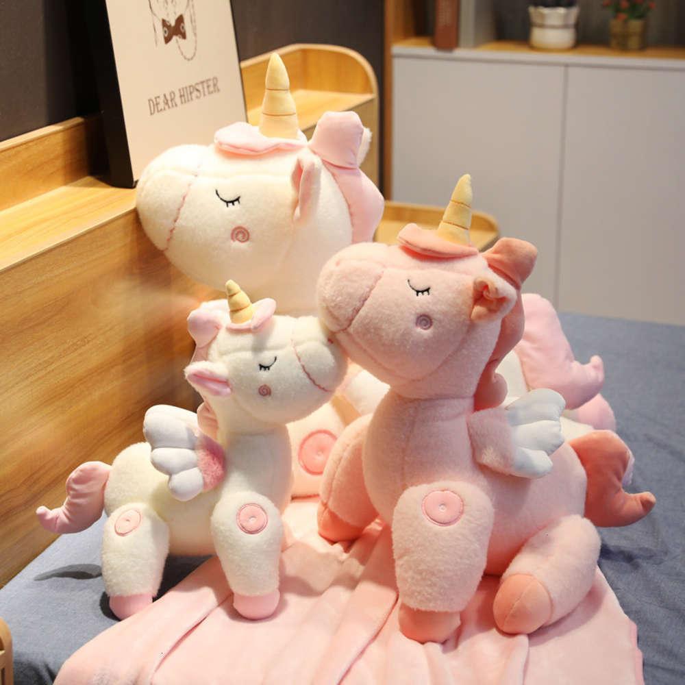 Розовая девушка сердца мечта Unicorn Ins плюшевые игрушки подарок куклы сустава подвижный