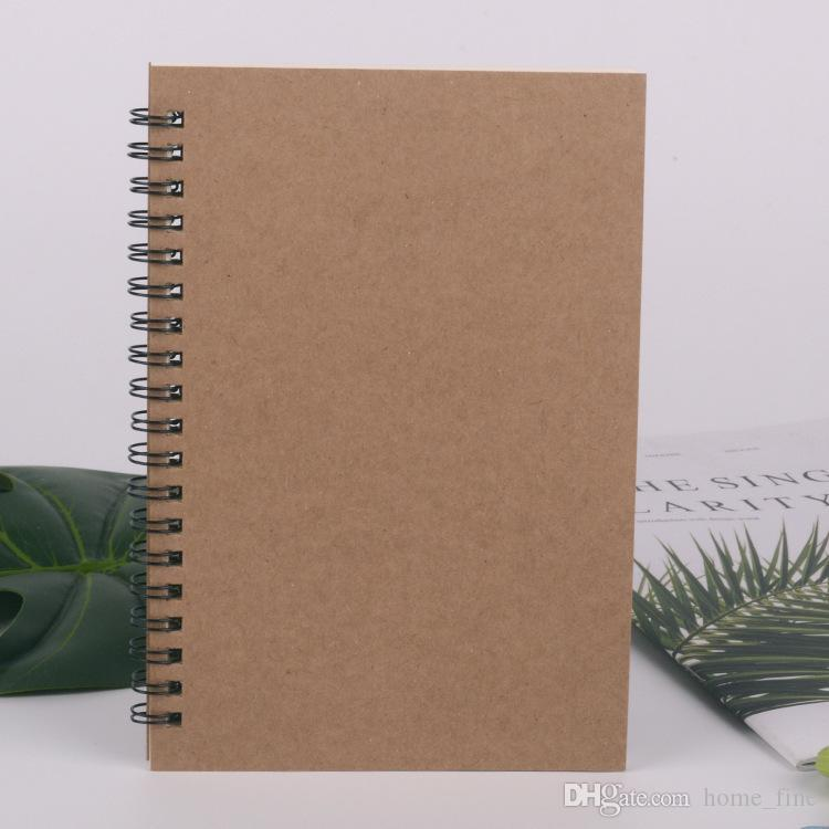 Blank Sketchbook Drawing Painting Doodle Diary Soft Cover Blank Paper Notebook Memo Pad Scrapbook School Office Stationery