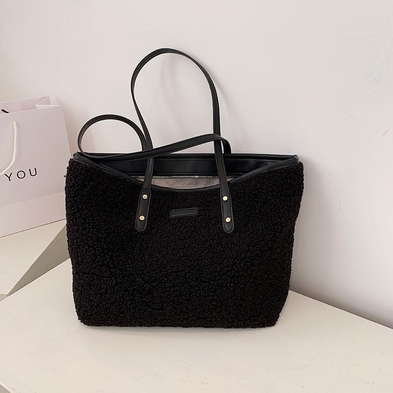 Borse a spinta ad alta capacità S.ikrr per le donne 2021 Borsa a tracolla invernale Designer Designer Borse LUX Tote Bag GRANDE Shopping Handbags
