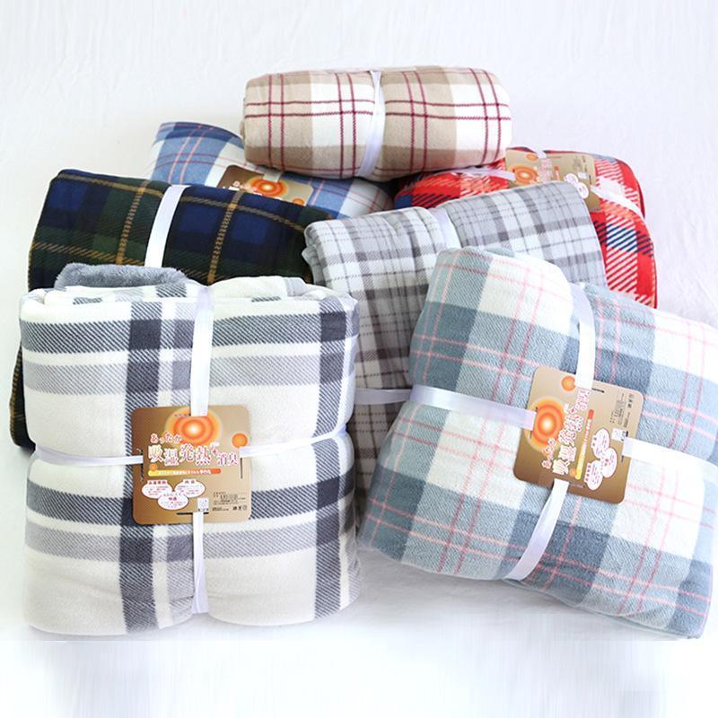 Фланелевая одеяло зимняя двойная ягненка Cashmere одеяло кровать диван теплый шерстяной листовой кроватный портативный портативный охват Путешествия Blanketoffi1
