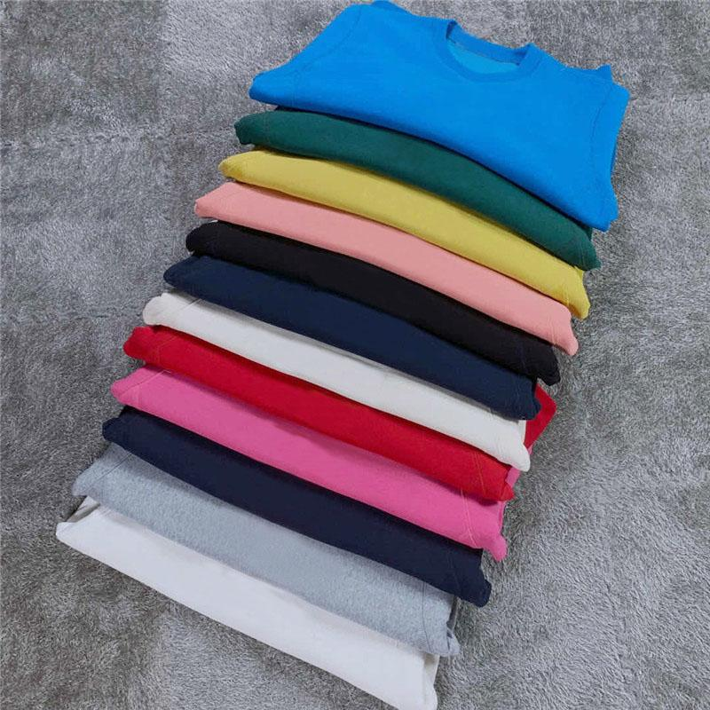 2021 Crewneck 로고 패션 스웨터 캐주얼 남성 여성 풀오버 커플 스트리트 스웨터 최고 품질 12 색 까마귀