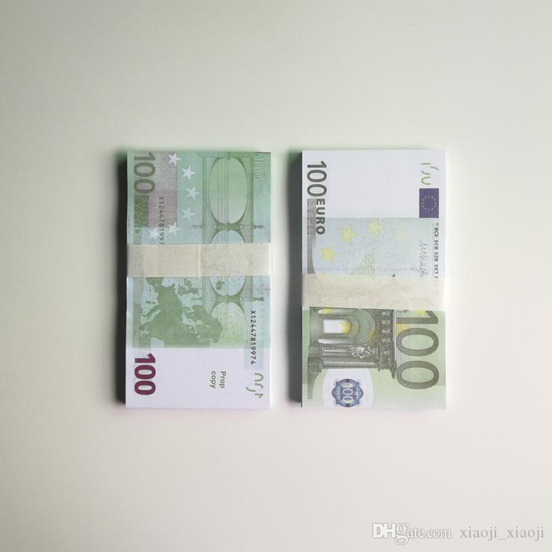 Fake Euros Цены 01 Замечания Примечание Paper 20/20/50/100 Бизнес Бизнес поддельные делают деньги для сбора денег NXDRO