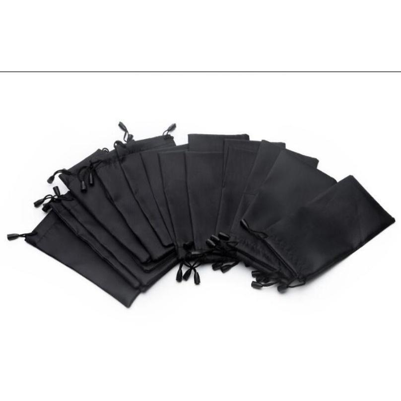 100 قطع كيس النظارات الشمسية الناعمة مع تنظيف القماش ستوكات الغبار للماء التخزين الحقيبة النظارات تحمل حقيبة portab sqcqcg عدسة