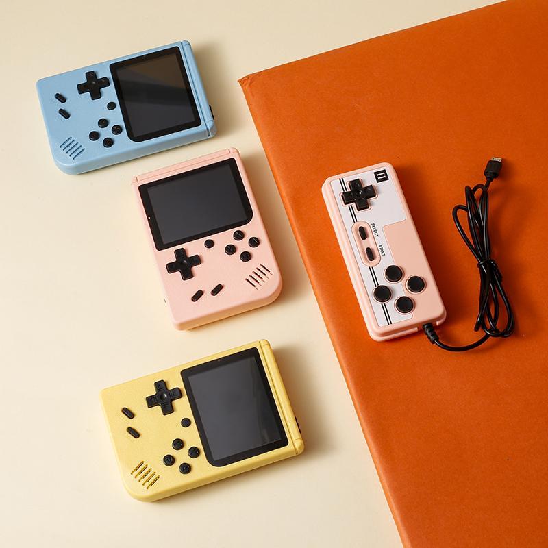 Palmare Retro Video Game Game Console 3.0 pollici Gioco giocatore 500 400 in 1 Giochi classici Mini Pocket Gamepad per bambini Regalo