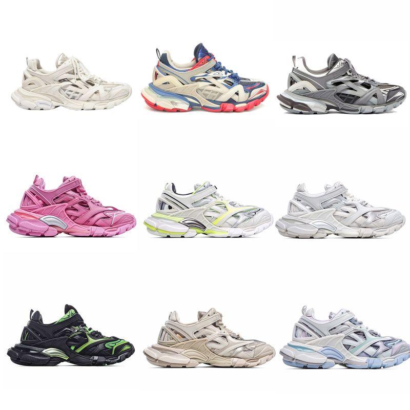 balenciaga balenciaca balanciaga High Quality Track 4.0 2.0 3.0 Sports Shoes Triple S Black 2021 Compare Sneaker Trainers Designer hommes femme  femmes baskets  chaussures