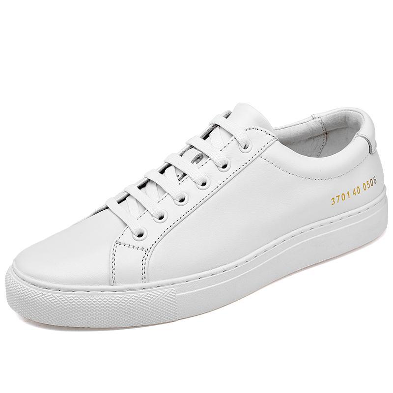 Deri beyaz erkek ayakkabı sonbahar rahat Kore tarzı trend tüm maç chic pano ayakkabı erkek rahat trendy ayakkabı