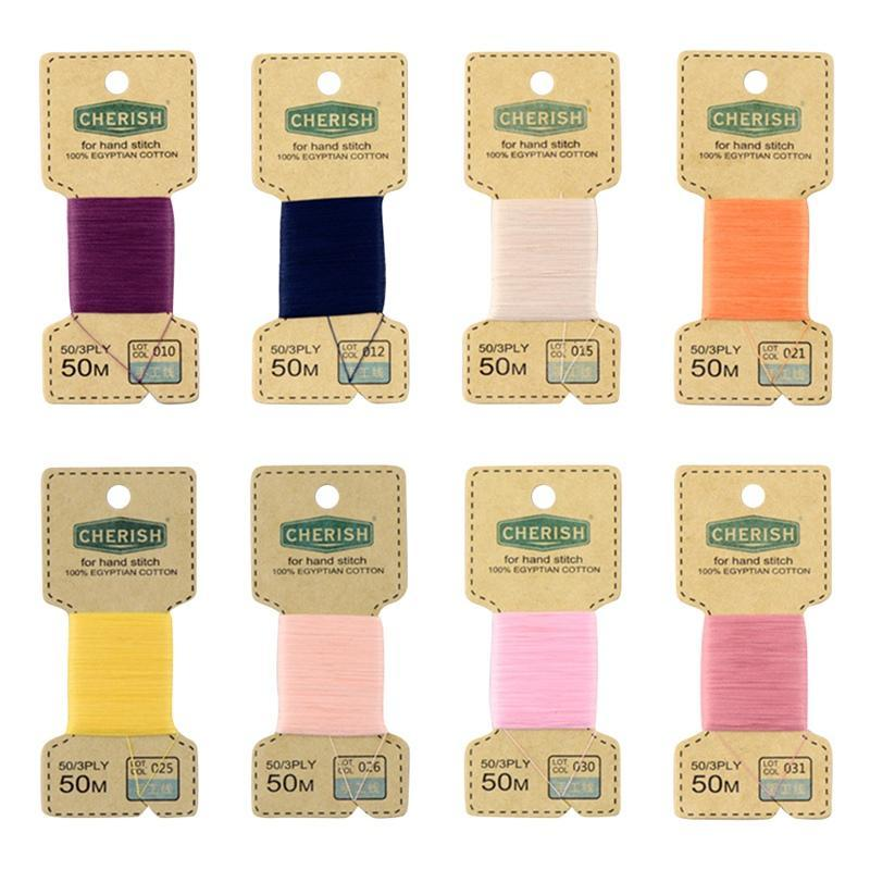1 Set 24 Colors Embroidery Threads Sewing Thread DIY Handmade Accessories Cotton Threads Cotton Thread