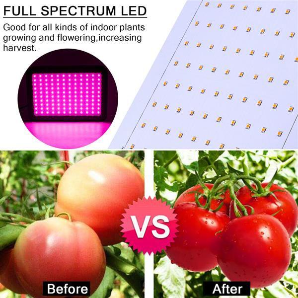 Ücretsiz Teslimat 600 W 60 * 10 W Tam Spektrum 3030 Lamba Boncuk Bitki Lambası Tek Kontrol Premium Malzeme Büyümek Işıklar Siyah