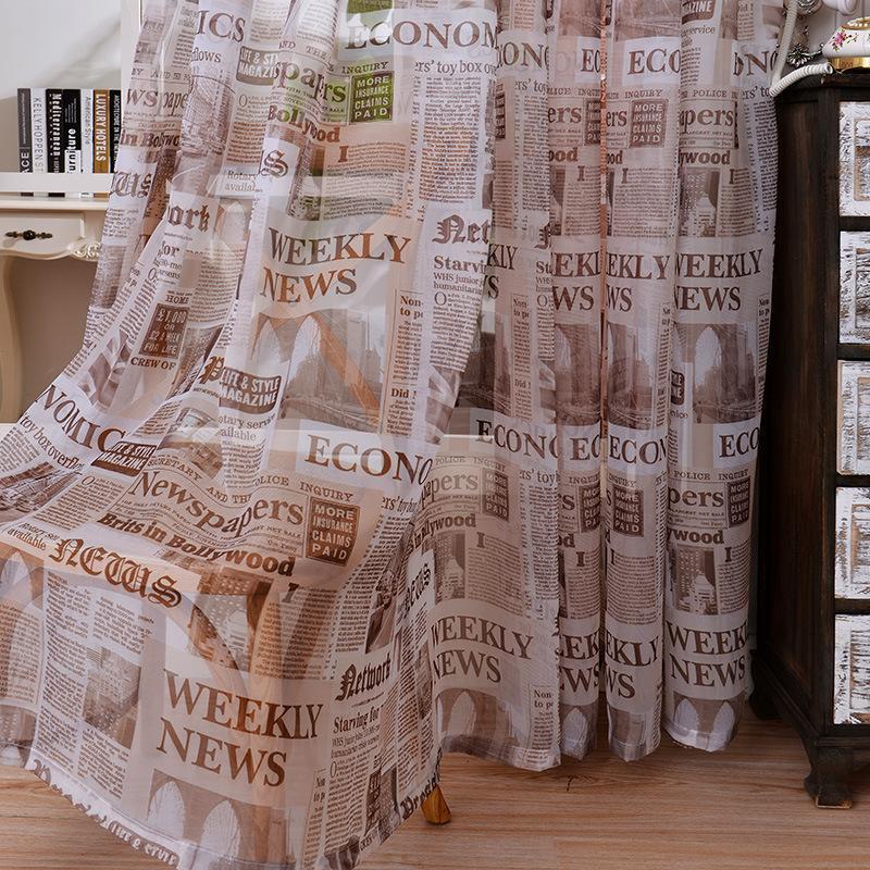 2020 لينة القطن الكتان النسيج شير تول الستائر لغرفة النوم الصحف نافذة الستائر للمطبخ tulles شيرز 1 قطعة
