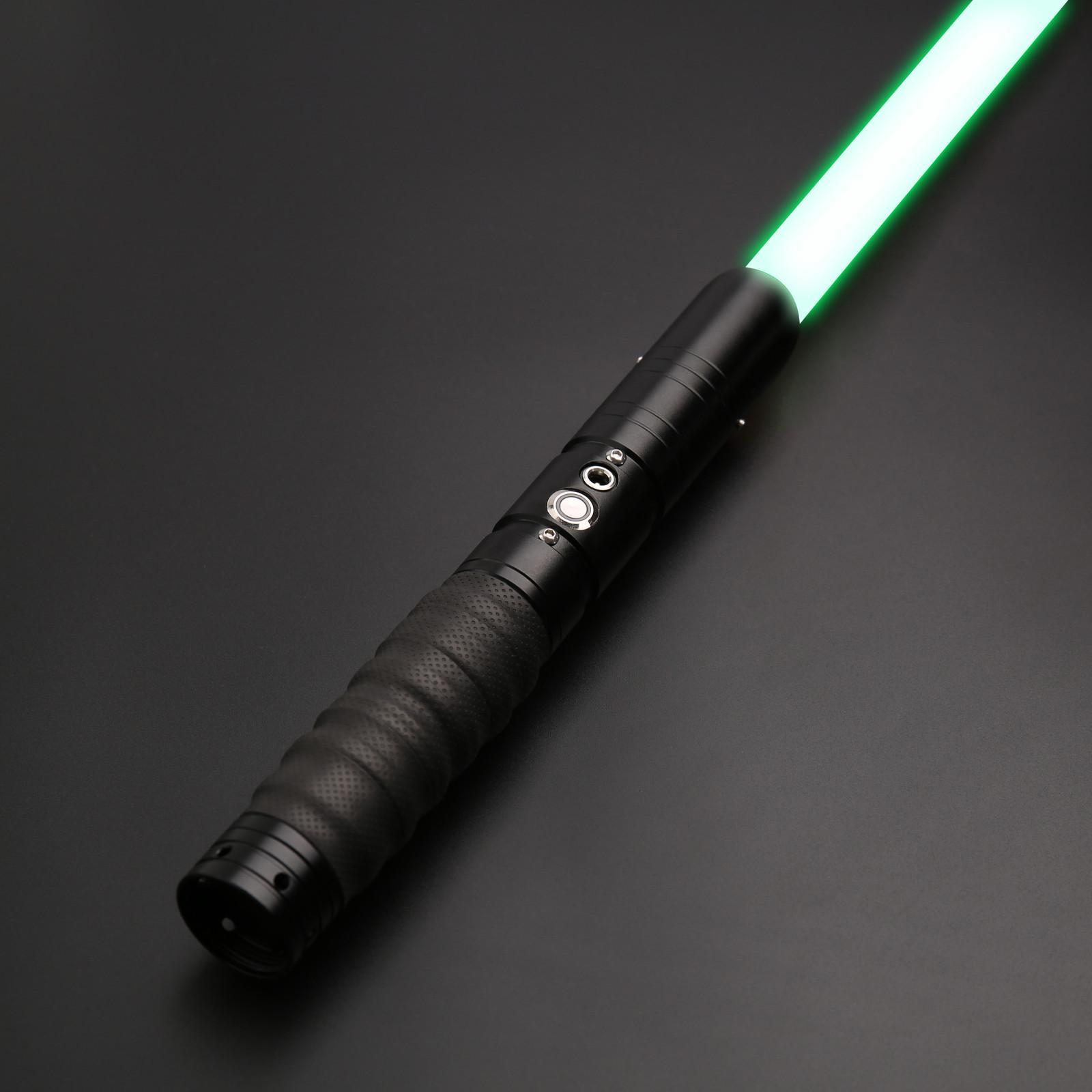 TXQSaber Sıcak SkyWalker LightSaber Luke Metal Saber Lazer Force FX Ağır Dueling Yüksek Ses Yüksek Işık FOC-TS001SILVER Q0115
