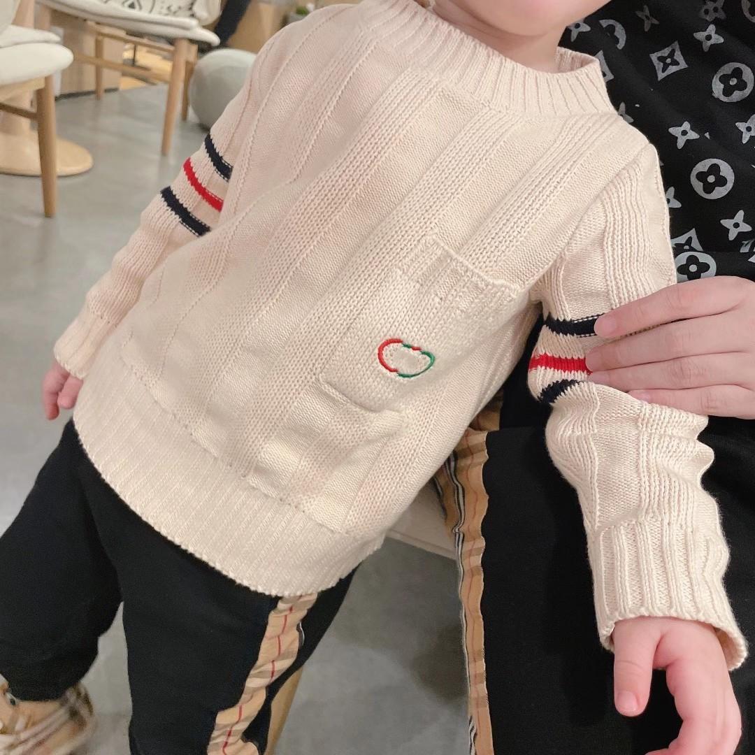 Nouveaux Kids Boys Garçons Sweaters Winter Bébé Bébé Tricot Sweater Enfants Vêtements Chaud Vêtements Livraison Gratuite