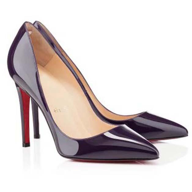 Fashion Luxurys Designers Женские Платье Обувь Красный Нижний Высокие каблуки Патентная Кожа Заочеренные Носки Насосы Обнаженные Красные Подошвы Вечеринка Платье Свадьба Обувь