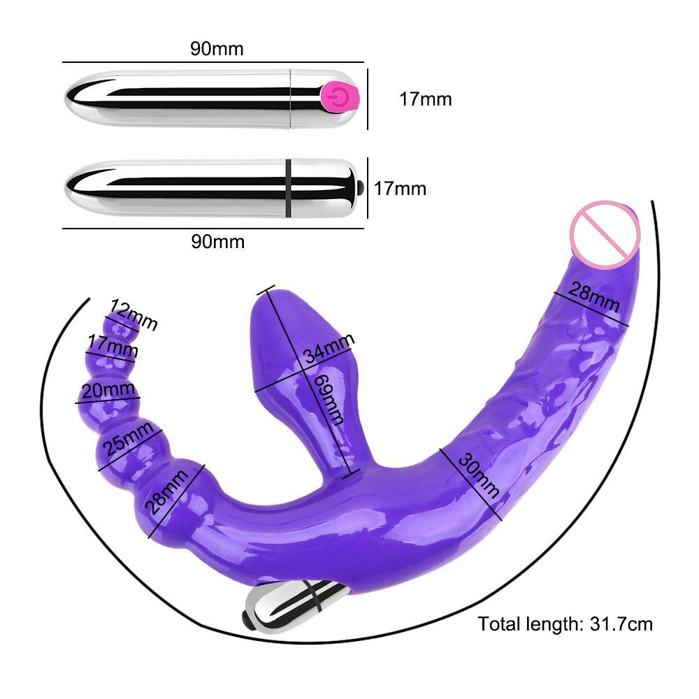 Olo anale perline giocattoli sexy per uomini donne senza spalline dildo vibratori prostata massaggiatore anale tappo vibratore vibratore a due teste vibrator