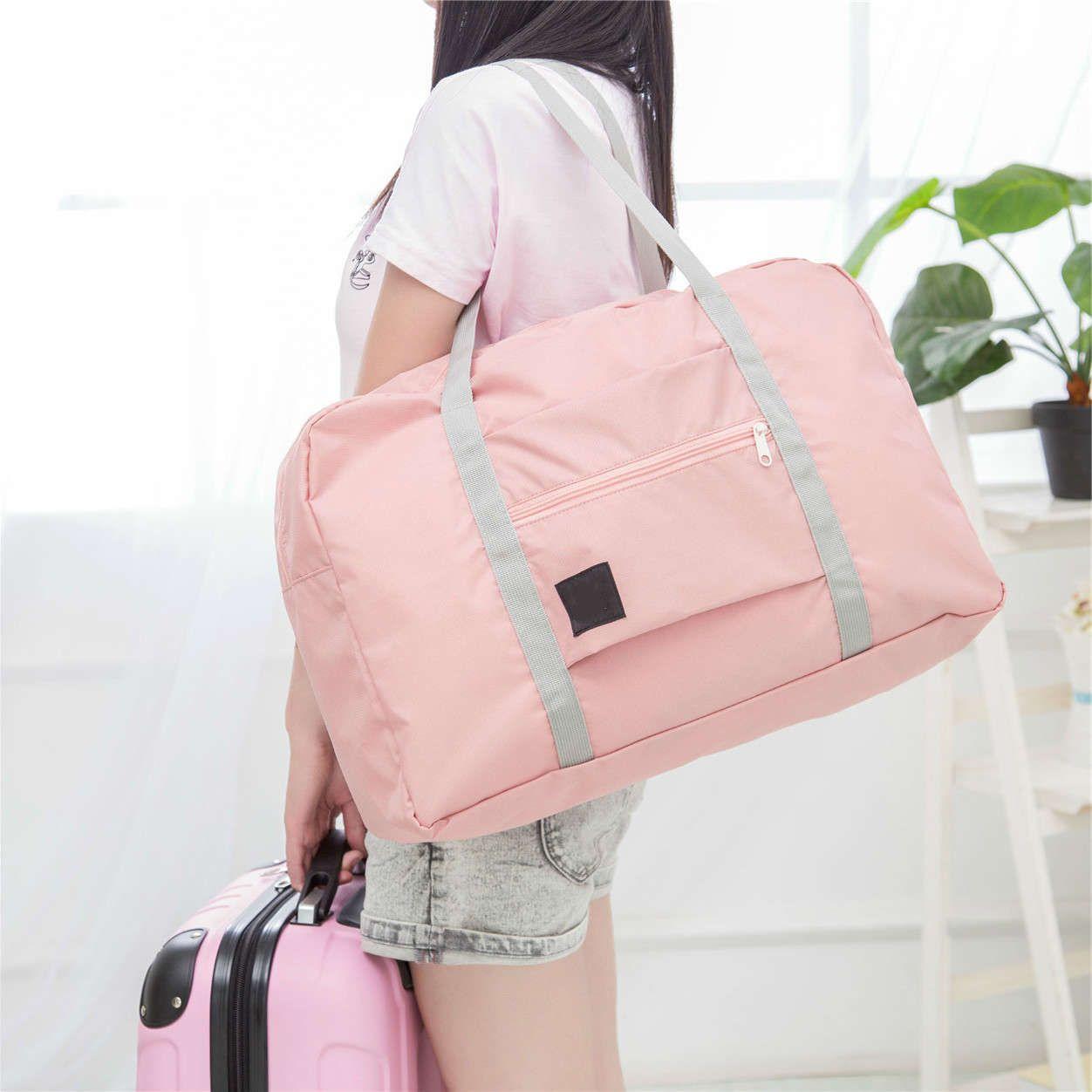 Bagagem de nylon de nylon de bolsa de dobramento para homens mulheres moda fashion dlefle sacos sacos grandes mochilas