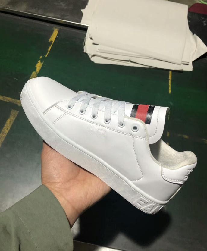 2019 più nuovo marchio sneakers mocassini di moda designer uomini donne tagliato bianco nero casual skateboarding scarpe sportive taglia 36-44