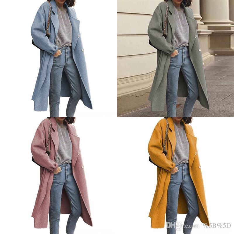 2Hz Neue Ankunft Designer Trenchcoat Wintermantel Frauen Hohe Qualität Warme Jacke Mantel Wollwolle Männern Lässige Frauen Jacken verdicken