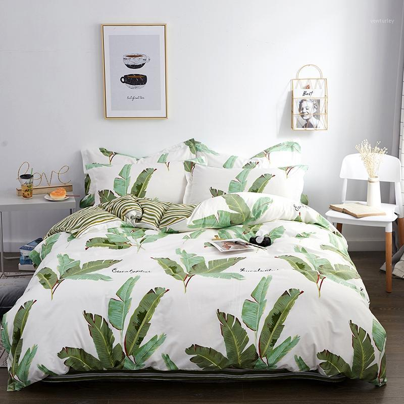100% Pure Cotton Bedding Sets, Home Textile Twin King Queen Size Bed Set Bedclothes with Bed Sheet Comforter set Pillow case1