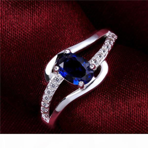 K 10 Pieces Mixed Style Women &#039 ;S Gemstone Sterling Silver Ring ,High Grade Burst Models Fashion 925 Silver Ring Gtr51 Online For