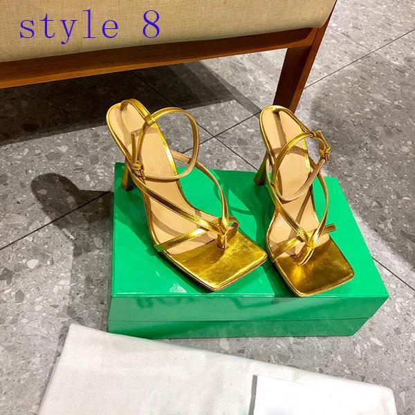 Venta caliente Nuevo estilo damas verano de alta calidad al aire libre casual tacón alto sandalias de lujo zapatos de lujo mujeres de encaje clásico lace tacón alto zapatos casuales