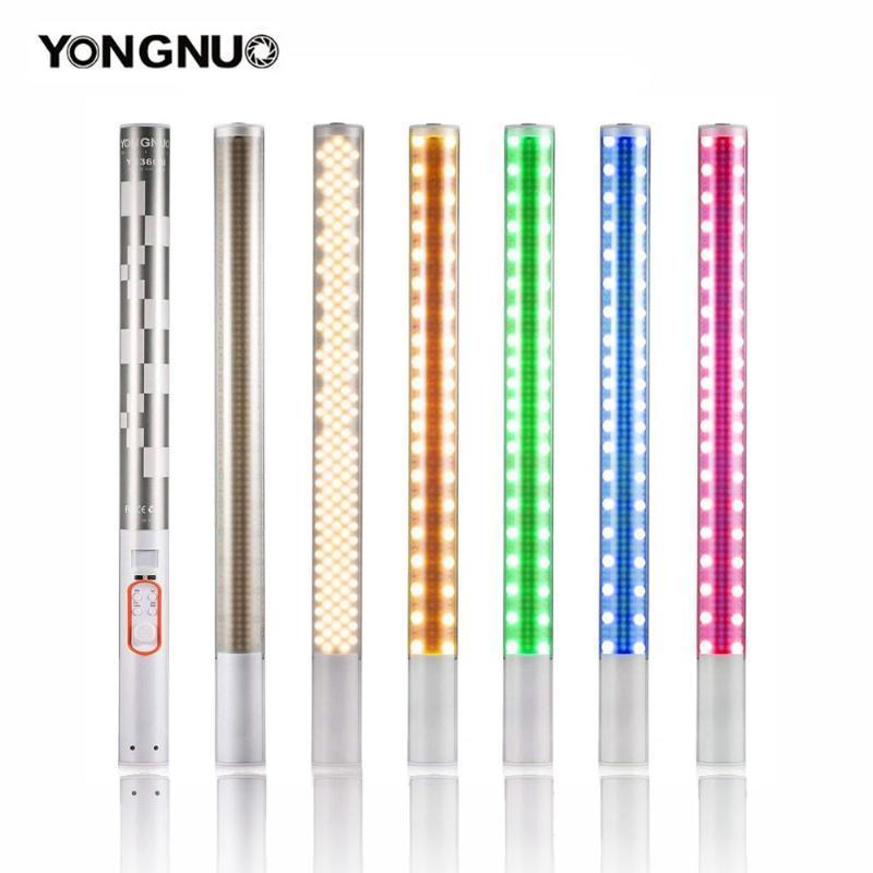 YONGNUO YN360 / YN360II LED Photo Video lumière 3200K-5500K et couleur RVB portatif Photographie glace Bâton Tube Light