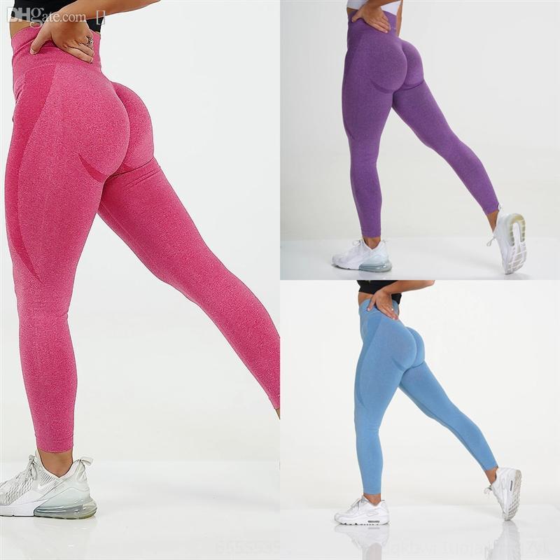 Mg7j Solid Color Sportswear Femme Yoga bootcut yoga pant Waist woman Pants Elastic for Loose Long Pant Pantalon Women Lady Belly Dance
