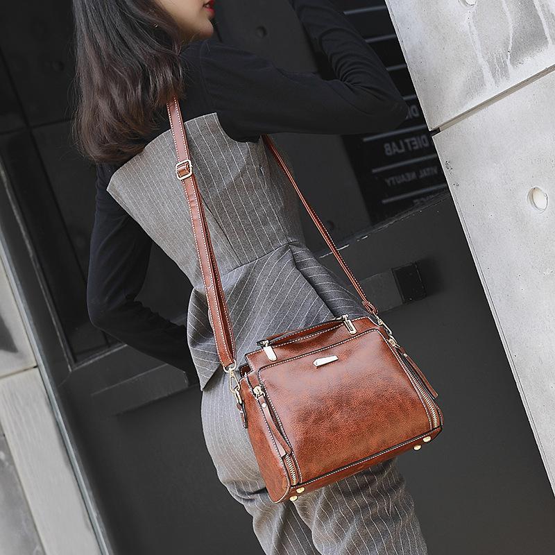 HBP Moda Çanta 21 Yeni Büyük Kapasiteli kadın Çantası Trendy Mizaç Çapraz Omuz Çantası PH-WF2101218