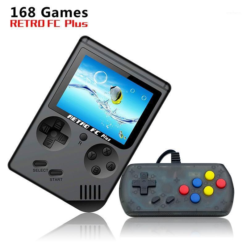 Portable Retro Game Mini TV для детского мальчика, встроенный 168 3 'Candheld Player Player Counling Retro # 251