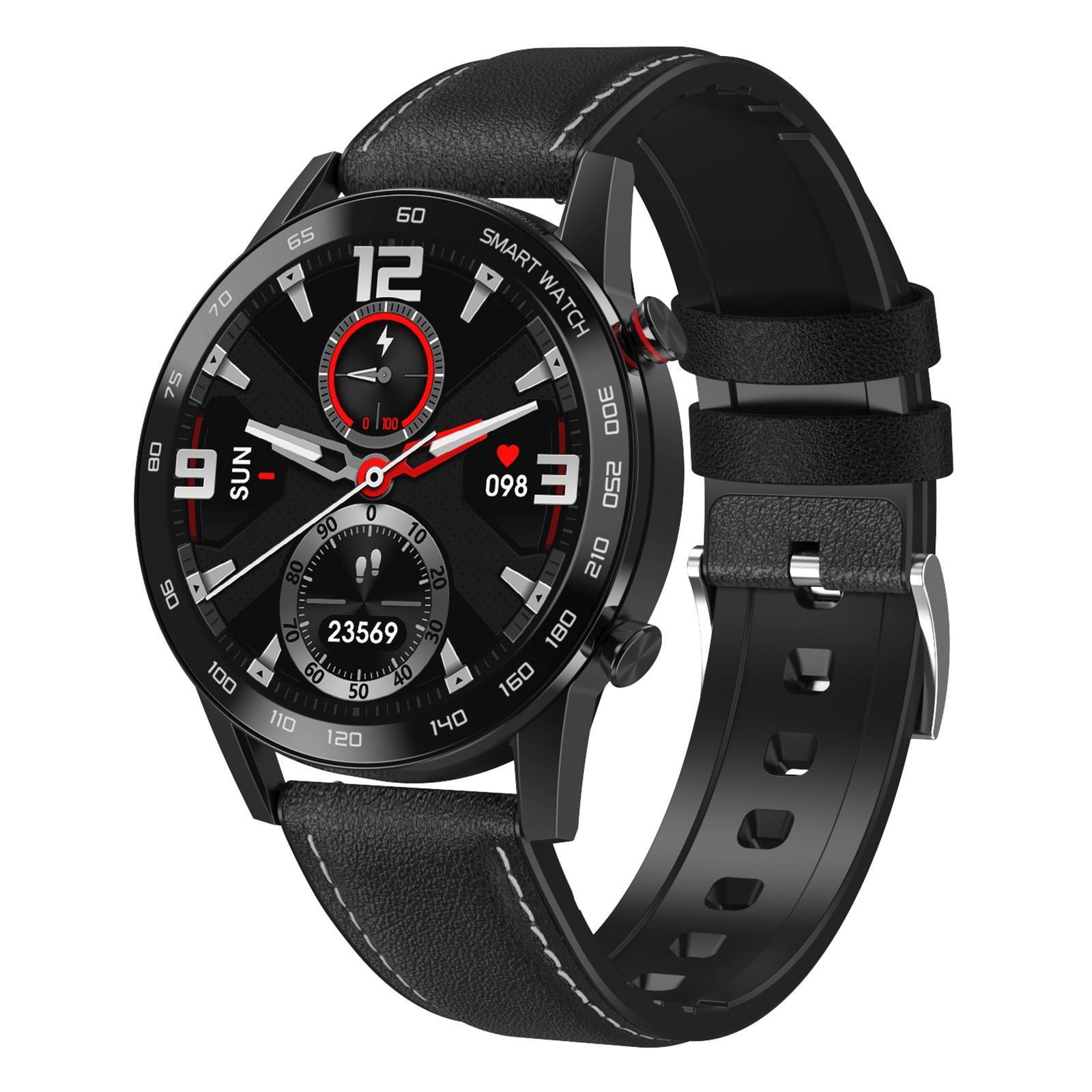 2021 Fitness DT95 Smart Watch Hombres Mujeres Tasa del corazón Monitor de presión arterial Bluetooth Connect Smartwatch para Android Watch Smart