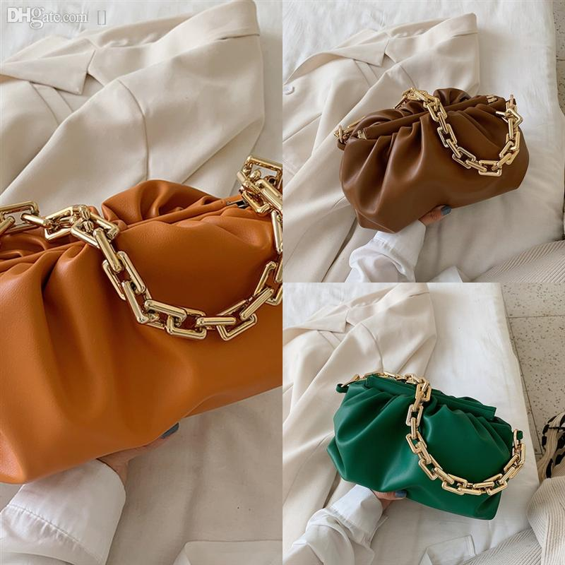 Горячая серия мода бренд пельмени клип роскошные сумки дизайнерские сумки облака большие облака продажи модные сумки цепи # 791