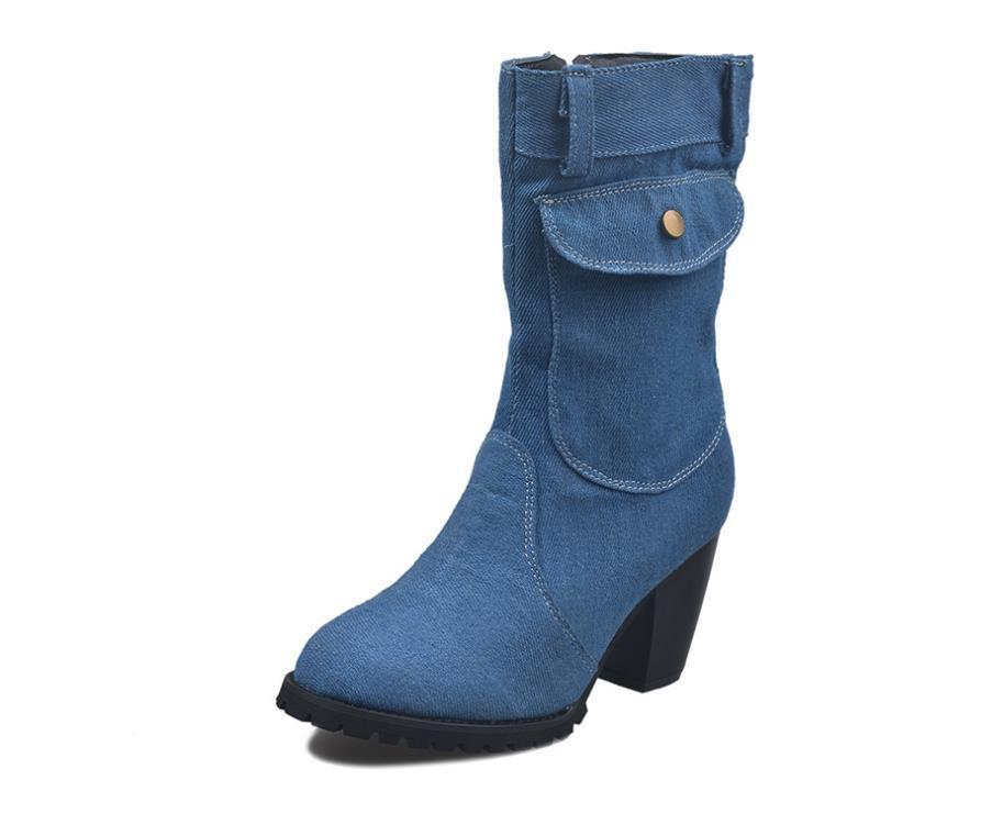 Stivali da donna in PU inverno Stivali da donna Abbigliamento Stivali da donna Trendy Stivali da donna Trendy Stile caldo e simpatico stile Best Selling