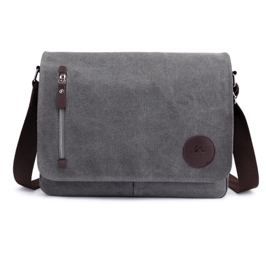 HBP Classic briefcase printing Grid Men Messenger Bag Leather Handbag Pochette Handbags Purse Shoulder Bags Crossbody