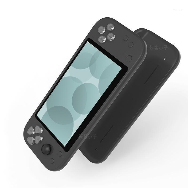 Jogadores portáteis jogadores coolbaby retro portátil console arcade player suporte 2.4g wireless gamepad saída vídeo gift1