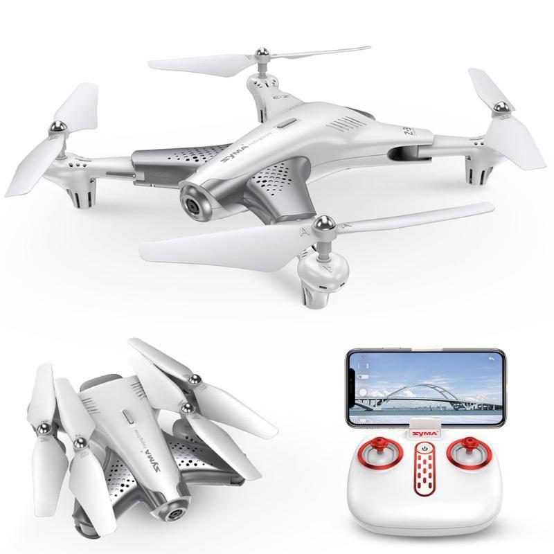 DRONES SYMA Z3 RC Elicottero Smart Pieghevole Drone Pieghevole con 720p FPV WiFi Fotocamera HD HD Altitudine in tempo reale Tenere i giocattoli Quadcopter Modalità senza testa
