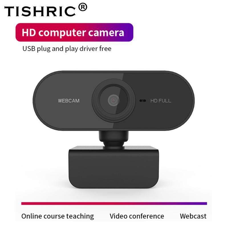 Full HD Webcam 1080P Автофокус с шумоподавлением веб-камеры для камеры Windows Mac для веб-камеры PC с микрофоном