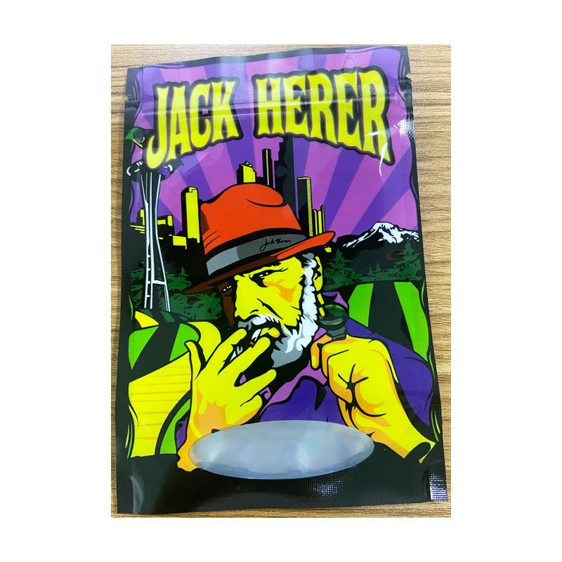 Регулярные штаммы Джек Шертер Пластик Stand Up Pough The Suite Herb Цветок Запада Совокупные Сумки Предварительная Упаковка
