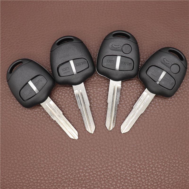 Key Key Shell для Mitsubishi 2/3 кнопки удаленный ключ чехол лансер outlander Grandis EV Evolution ключевой случай справа / левый MIT11 / MIT8 Blade