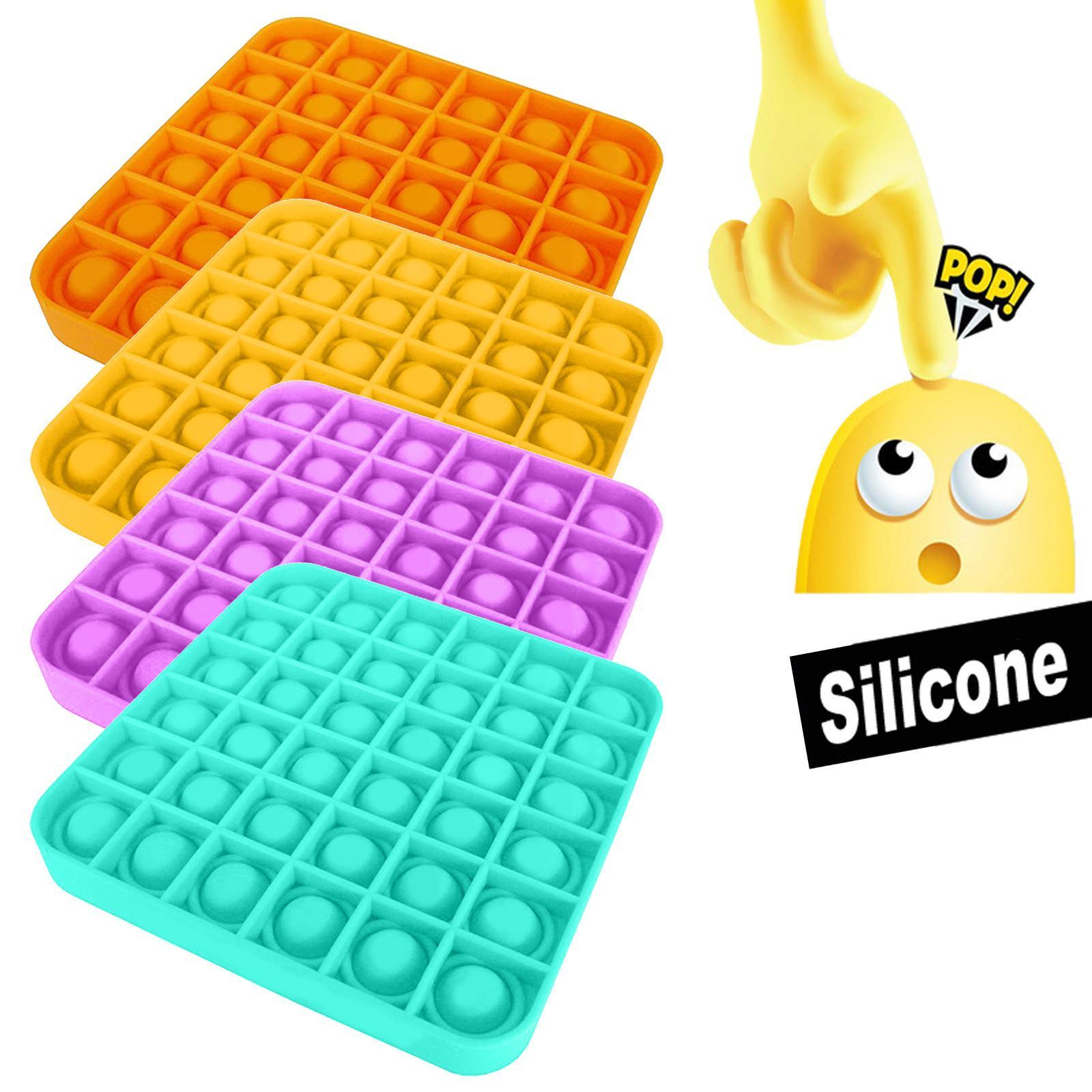 2020 POP Kabarcık Duyusal Oyuncak Otizm Gerekiyor Squishy Stres Rahatlatıcı Oyuncaklar Yetişkin Çocuk Komik Anti-Stres Pop It Fidget Rody Reliver Stres