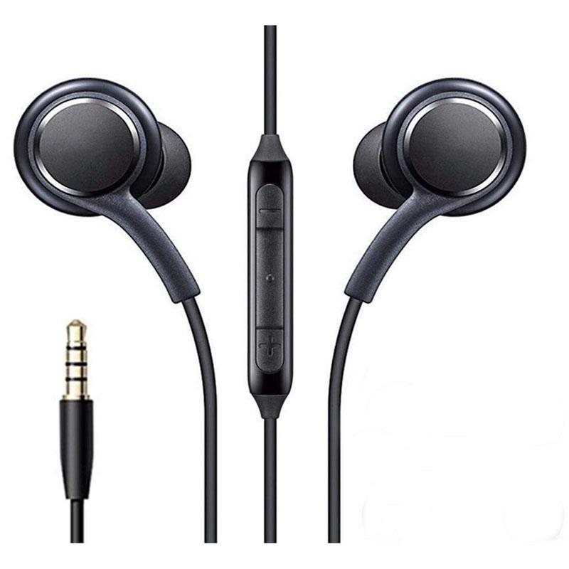 S8 Kulaklık MIC ve Uzaktan Kumanda Kulaklık Samsung Galaxy S9 S10 için Not 7 8 9 3.5mm Jack Kulaklık Kulaklıklar EO-IG955 Handsfree Kulaklık Akıllı Telefon