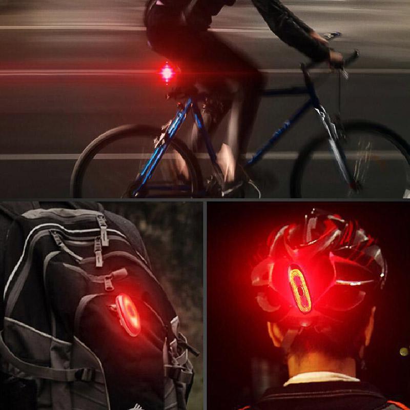 Smart Vélo Tail Etanche Étanche USB Chargement de vélos AVERTISSEMENT D'AVERTISSEMENT DE VENTE À INDUCTION LUMIÈRE ÉCLAIRAGE ED-ÉDUCTION