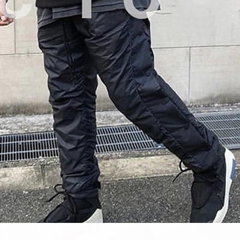 NRG Air Test of God Tear Away Pantaloni Pantaloni antinebbia per uomini Donne Designer Designer Casual Pantaloni lunghi Pantaloni Hip Hop Sport Skateboard Streetwear Streetwear