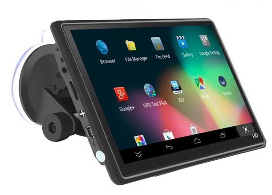 7 بوصة 480x800 سيارة SAT NAV 8GB سيارة شاحنة HGV LGV GPS للملاحة EU Lifetime خريطة FM ناقل الحركة مركبة GPS Electronics