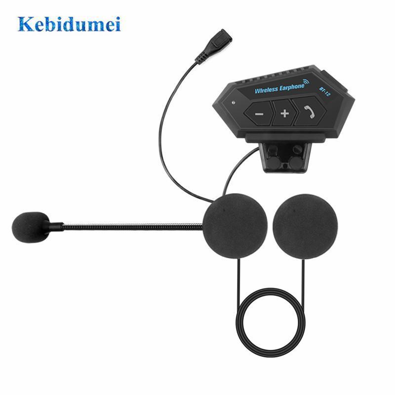 Walkie Talkie Motorrad Bluetooth Helm Headset Wireless Kopfhörer Kompatibel mit Rollerhelme, die Freisprechen sprechen