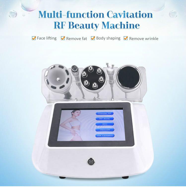 Sistema di cavitazione del vuoto ad ultrasuoni RF Radio Frequenza Ridurre il dispositivo Peso Bio Face Face Sollevamento del corpo Shaping Slimming Machin