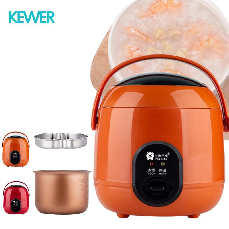 طباخ الأرز للطباخ المتعدد أدفأ المنزل مطبخ متعدد الألوان المحمولة التلقائي الأوتوماتيكي الأرز الكهربائية 1.2L