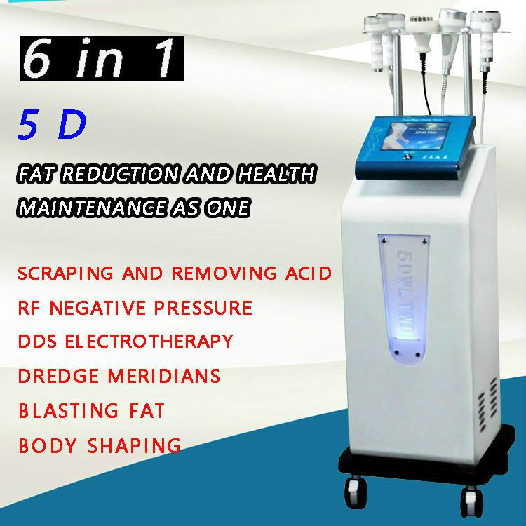 Multi-função face elevador ultra-sônico perda de peso cavitação 5d escultura instrumento rf vácuo corpo moldando máquina de emagrecimento gordura gordura